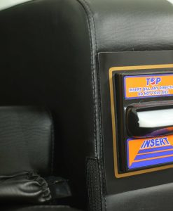 Vị trí nhét tiền của ghế massage tính tiền tự động Panasonic EP-MA71