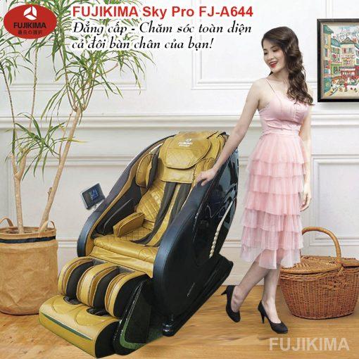ghế massage toàn thân Fujikima Sky Pro FJ-A644