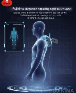 ghế massage toàn thân Fujikima Sky Pro FJ-A644 body scan