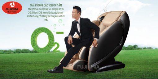 ghế massage toàn thân Fujikima Sky Pro FJ-A644 phát ion