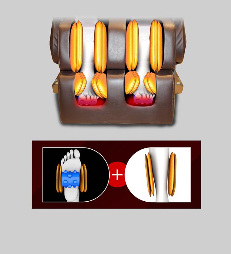 Bộ phận matxa ghế massage toàn thân Hishashi