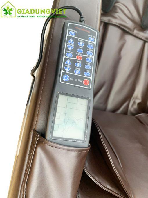 Ghế massage Saporoo 2D 8700 điều khiển cầm tay