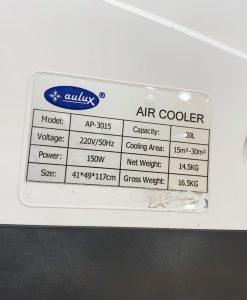 Máy làm mát không khí 2 tầng Aulux AP-3015