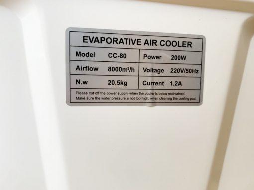 Máy làm mát không khí Bennix CC-80