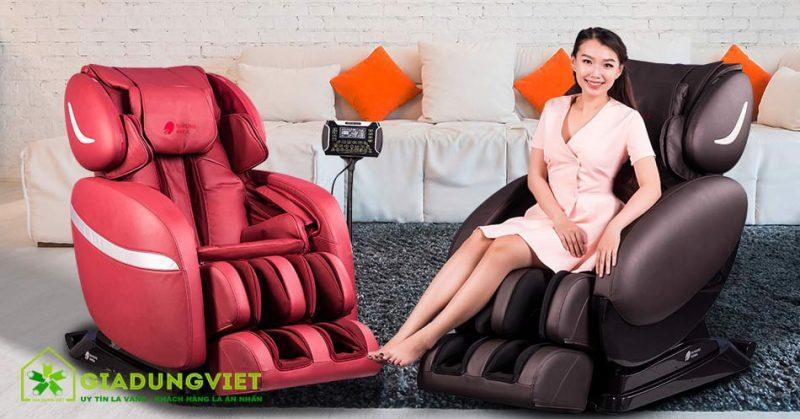 Ghế massage mang lại lợi ích gì cho người sử dụng