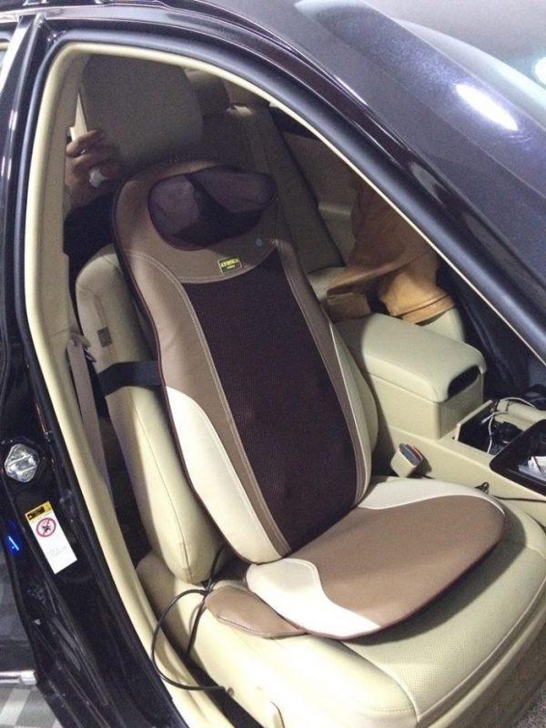 Sử dụng đệm mát xa trên ô tô