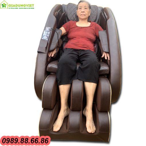 Ghế massage toàn thân Saporoo 158 giá 9 triệu VNĐ