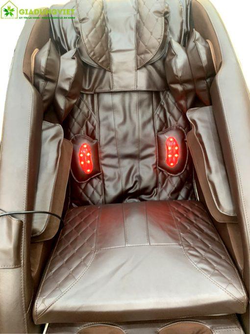 ghế massage Nhật Bản Saporoo 6800 nhiệt hồng ngoại
