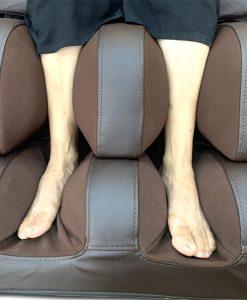 ghế massage Nhật Bản Saporoo 6800 túi khí chân
