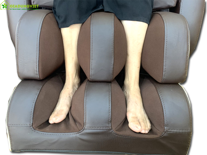 Túi khí bắp chân và con lăn tại bàn chân
