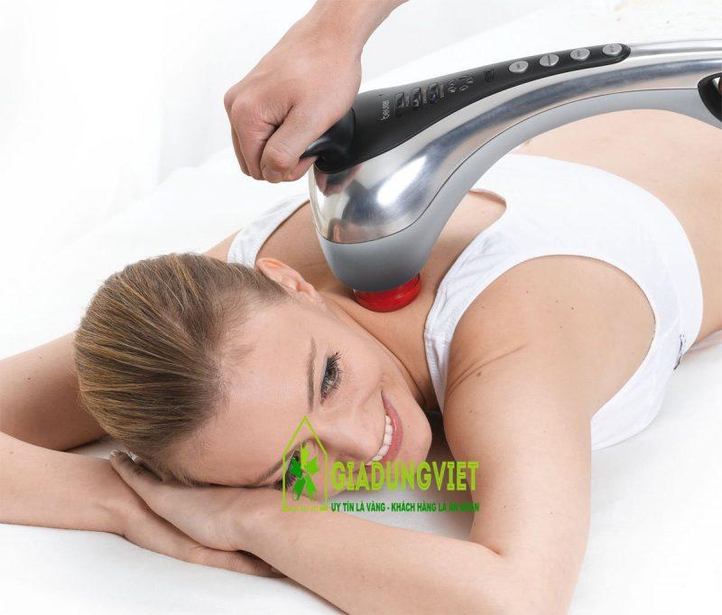 Giới thiệu về máy massage đấm lưng hồng ngoại LH8013 carhome min