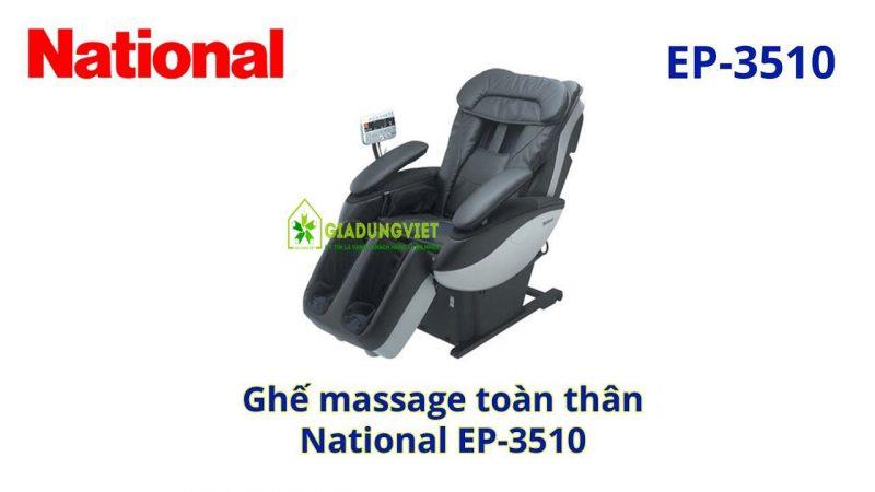 Giới thiệu về máy massage national 3510 min