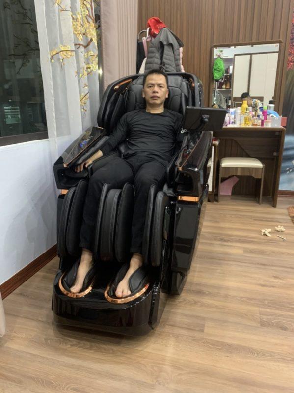 Ghế massage nhật bản Okazaki OS 1000 sang trọng