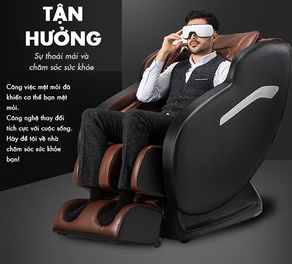 Ghế massage shika japan cải thiện gai cột sống thắt lưng an toàn hiệu quả nhất