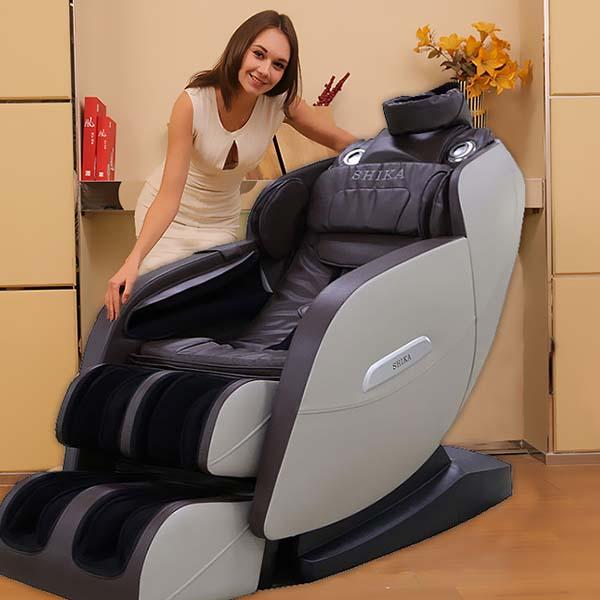 Ghế massage shika sk - 111 nâng cao chất lượng giấc ngủ ngon