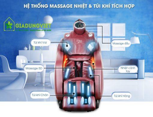 Cong nghe ghe massage ITSU SU 300 min