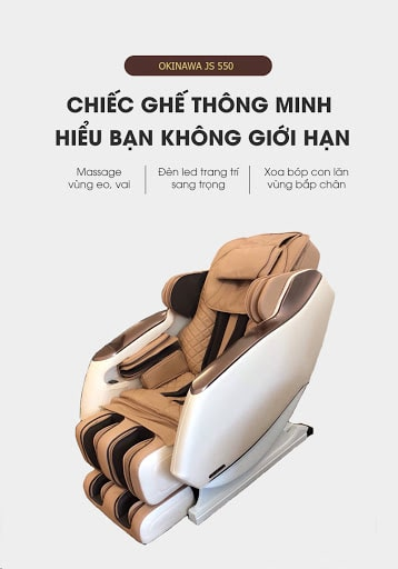 ghế massage JS 550