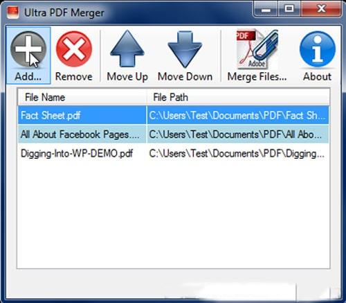 Ultra PDF Merger 3 min