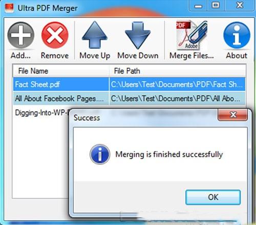 Ultra PDF Merger 4 min