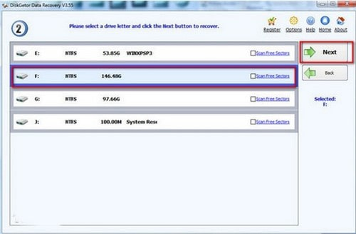 khoi phuc du lieu bang diskgetor data recovery 3 min