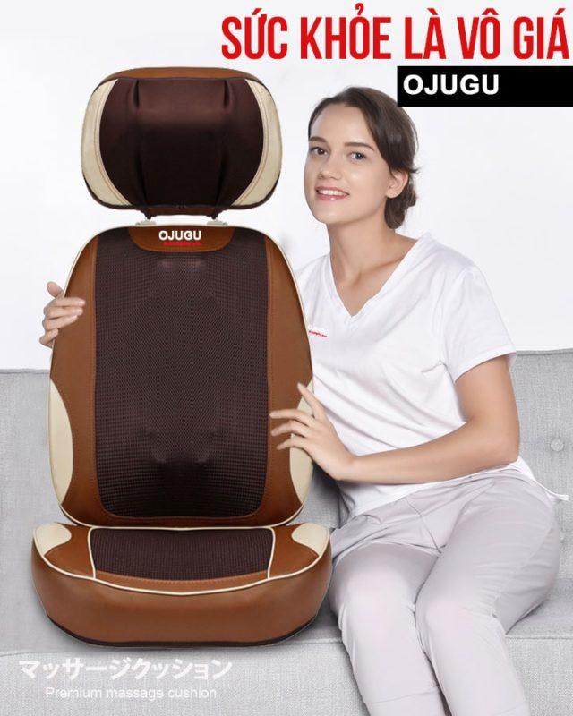 đệm massage OJUGU – GTK370 cao cấp