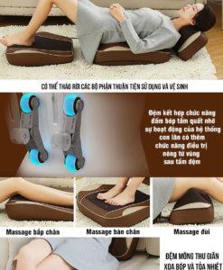 đệm massage OJUGU – GTK370 đa năng