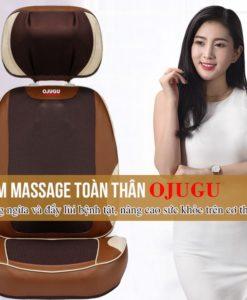đệm massage OJUGU – GTK370 Nhật Bản