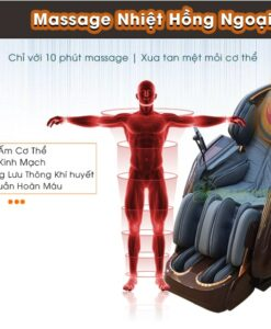Ghế massage ITSU SU-180 nhiệt hồng ngoại