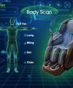 Ghế massage ITSU SU-180 body scan