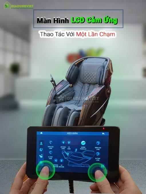 Ghế massage ITSU SU-180 điều khiển