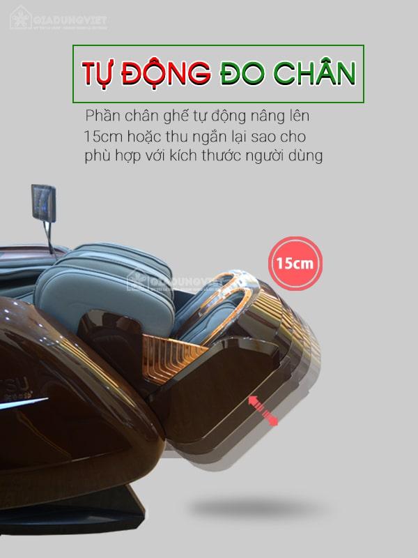 Ghế massage ITSU SU-180 bộ phận chân