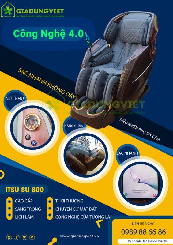 Ghế massage ITSU SU-180 cao cấp