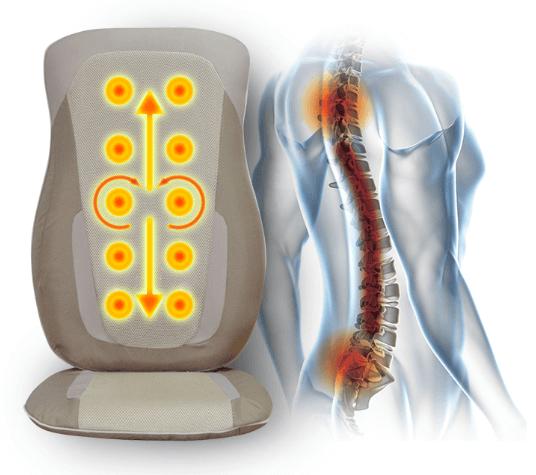 đệm massage toàn thân lưng