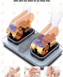 Ghế massage giá rẻ Saporoo SP 69 con lăn chân