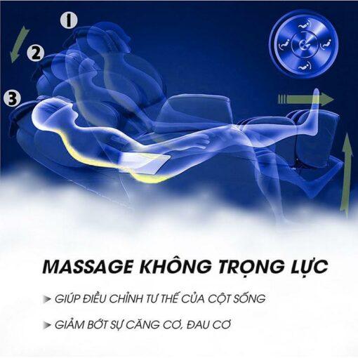 Ghế massage giá rẻ Saporoo SP 69 không trọng lực