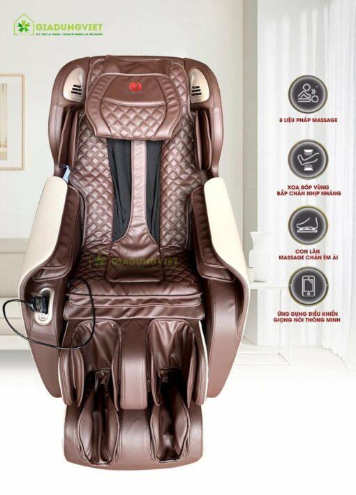 ghế massage toàn thân Okinawa OS 990 Nhật Bản